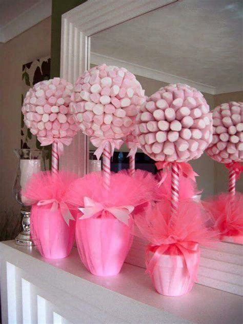 Marshmallow decorations | Baby shower parties, Shower