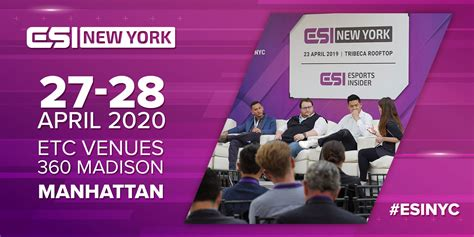 Esports Insider announces return of ESI NYC and 2020
