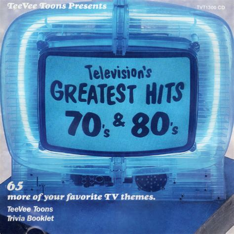 Television's Greatest Hits 70's & 80's (CD, Compilation