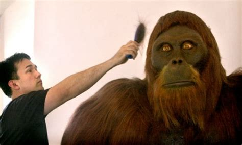 New Life-sized Replica of Gigantopithecus at Museum of Man