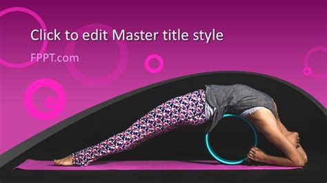 Free Yoga Pose PowerPoint Template - Free PowerPoint Templates