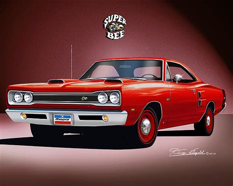 1969-1970 Dodge Superbee fine art prints by Danny Whitfield