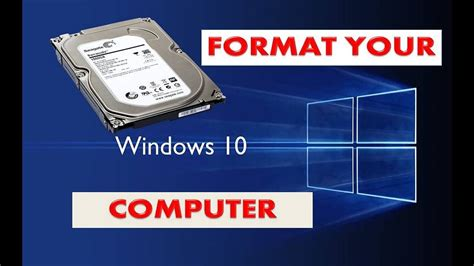 How to format your PC and Clean Install Windows 10- Use