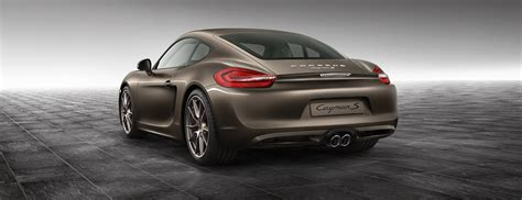 Cayman S Anthracite Brown Metallic - Cayman - Exclusive