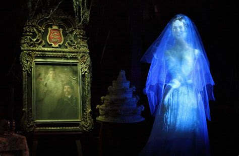 Disney Trivia, The Haunted Mansion's Ghost Bride