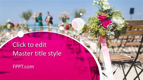 Free Wedding Ceremony PowerPoint Template - Free