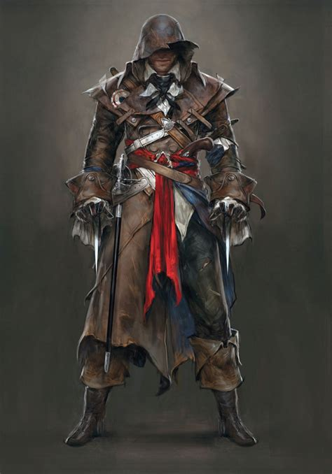 Assassin's Creed Unity's concept art won't get any
