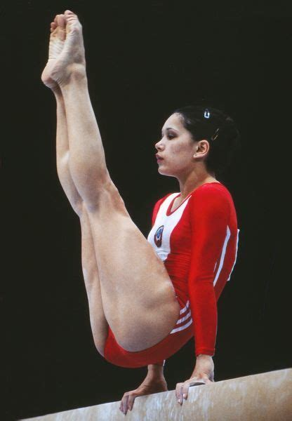 Nellie Kim at the 1980 Moscow Olympics (#6409961) Canvas Print