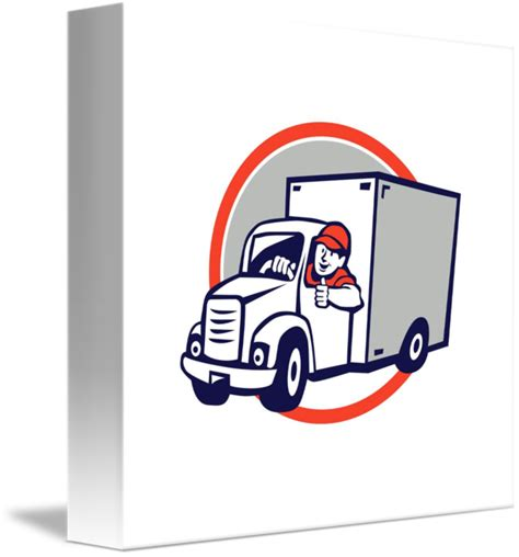 Driver clipart delivery driver, Driver delivery driver