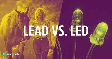 Led or Lead—The Past Tense of Lead?   Grammarly