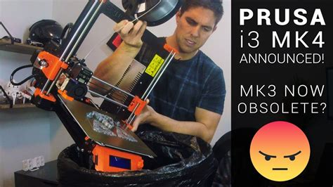 Prusa i3 MK4 announced! - MK3 users are left behind
