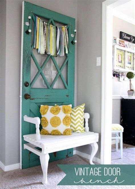 New Takes On Old Doors: 21 Ideas How to Repurpose Old