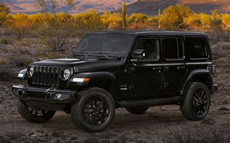 2020 Jeep Wrangler Unlimited High Altitude - Wallpapers