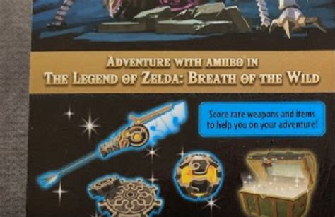 These are the rare weapons and items unlocked by the Zelda