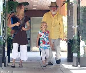 Nick Nolte wears his fave fedora and baggy clothes to