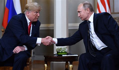 In pictures: Trump meets with Putin