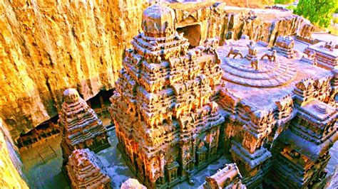 Kailasa Temple in Ellora Caves - Built with Alien
