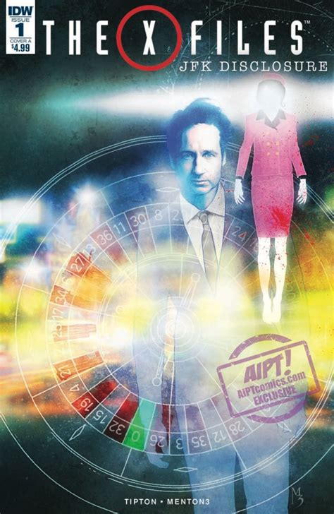 [EXCLUSIVE] IDW Preview: The X-Files: JFK Disclosure #1 | AIPT