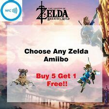 [NEW] Zelda Breath of the Wild Amiibos - Any Character YOU