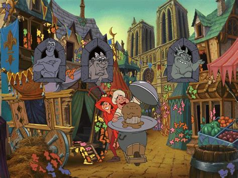 Disney's: The Hunchback of Notre Dame 5 Topsy Turvy Games