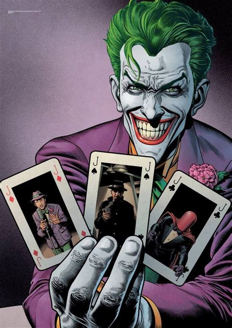 The Joker is consistently voted as one of the best comic