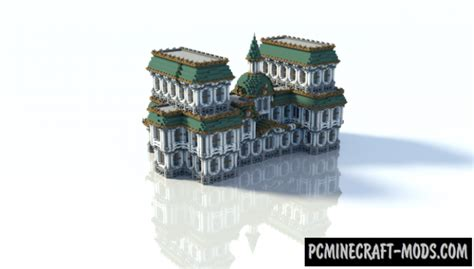Baroque-Building Map For Minecraft 1