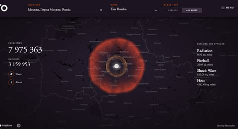 How to Love the Bomb: Online Nuke Simulator Shows How WMDs