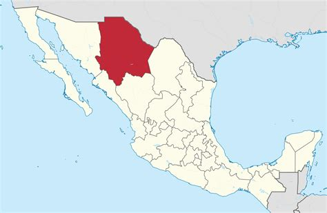 File:Chihuahua in Mexico (location map scheme)