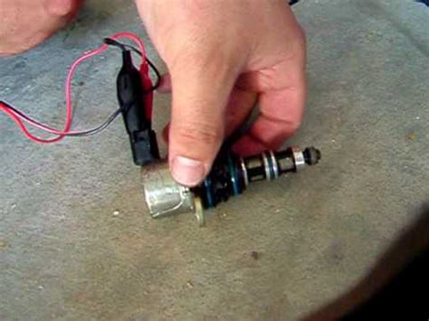Working MDS Solenoid Test - YouTube