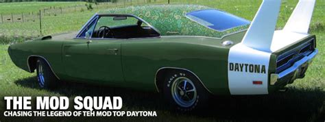 The Mod Squad: Chasing The Legend of The Mod Top Daytona