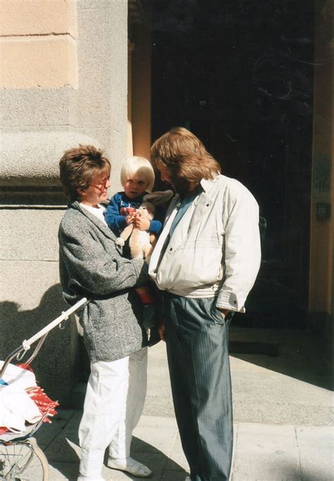 Benny ,television reporter Mona Norklit and Ludvig