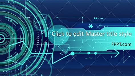 Free Future Technology PowerPoint Template - Free