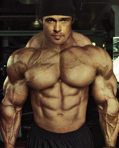 20 Hilarious Photoshopped Images: Celebrities as Bodybuilders