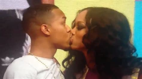 Tyra Banks and Bow Wow's Epic 2nd kiss on 106 & Park