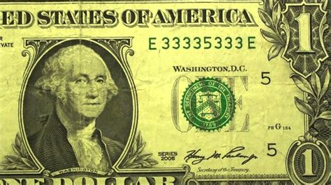 7 of a kind BINARY BEST $1 SERIAL NUMBER EVER ultimate one