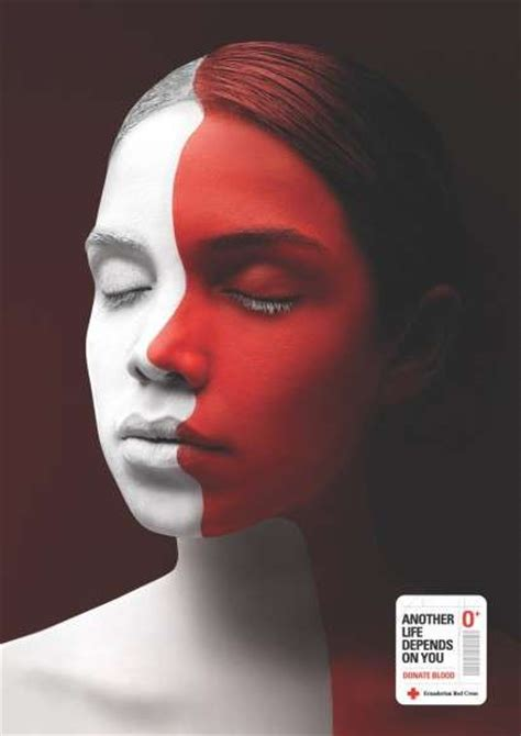 Face Painted Humanitarian Ads : Ecuadorian Red Cross campaign