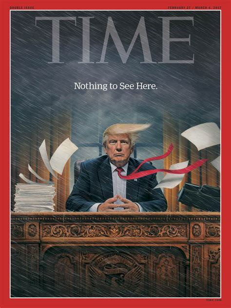 Time Magazine's New Cover Will Feature President Trump