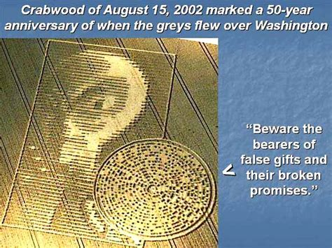 """Two hidden codes in Crabwood 2002 told us """"50 years have"""