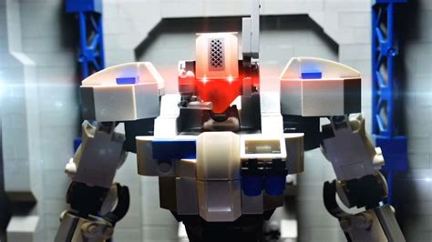 Lego stop motion - The Hero robot review - YouTube