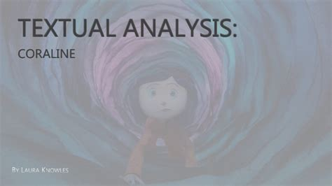 Coraline presentation (using art of the title)