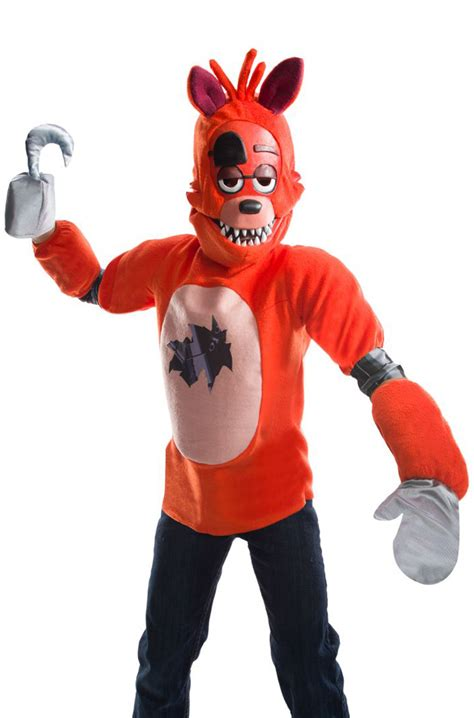 FNAF Foxy Deluxe Child Costume - PureCostumes