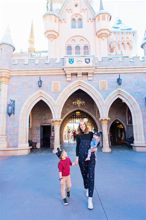 Disneyland Park Itinerary for Pre-School Aged Kids
