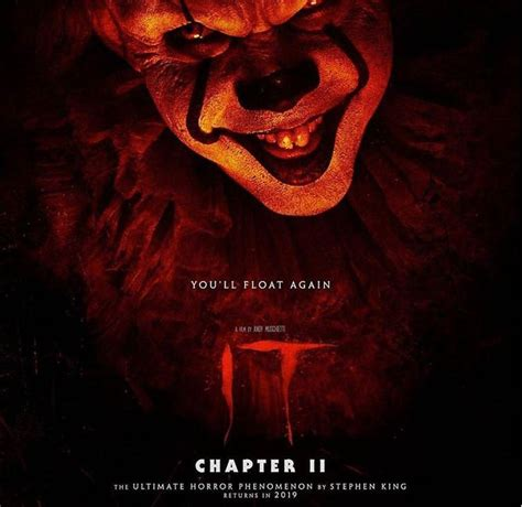 It Chapter 2 Fan made poster   Chapter, Horror movie art