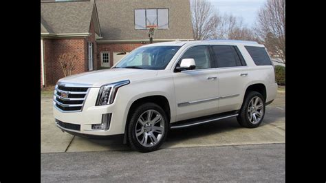 2015 Cadillac Escalade / ESV Start Up, Road Test, and In