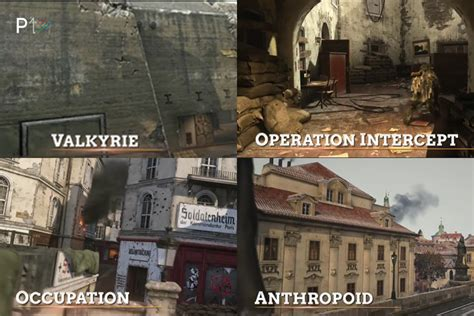 Call Of Duty: WWII Resistance DLC Trailer Reveals Maps
